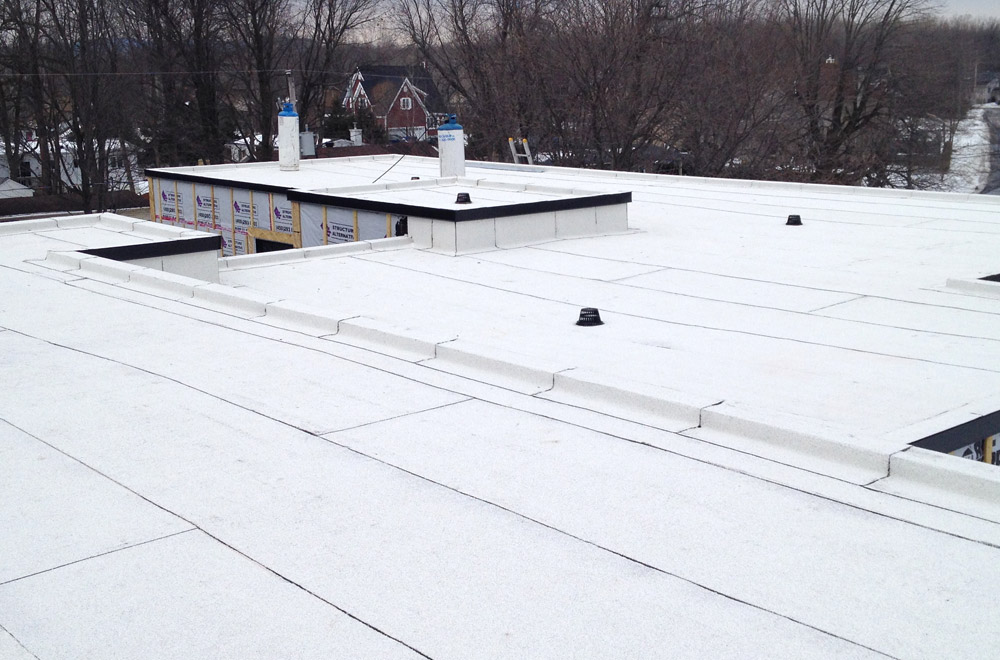 Roofing elastomere