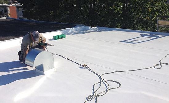 Roofing maintenant